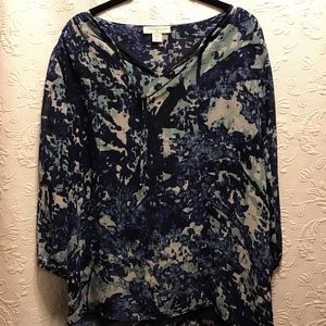 Coldwater Creek long sleeved Blouse size 10-12